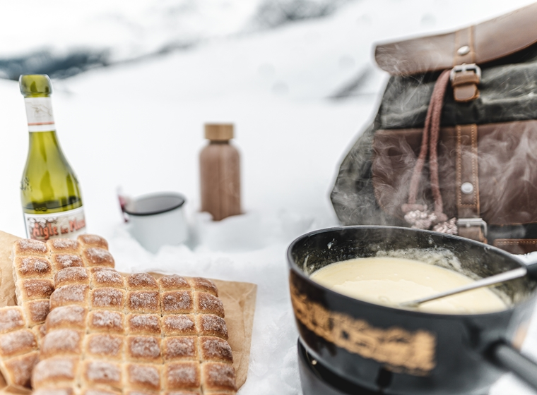 Cheese Fondue Backpack